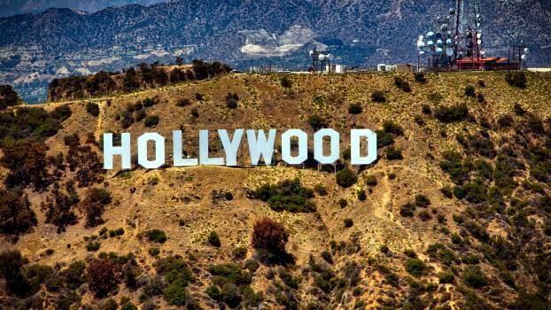 Hollywood skylten